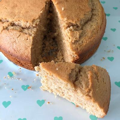 Gâteau à la crème fraîche sans beurre ni huile