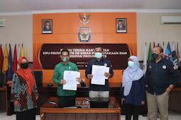 KPU Serahkan 1746 Dokumen Penyelenggaraan Demokrasi NTB