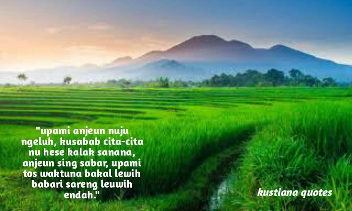25 kata Kata Mutiara Bahasa Sunda Sedih Dalam Menjalani Kahirupan