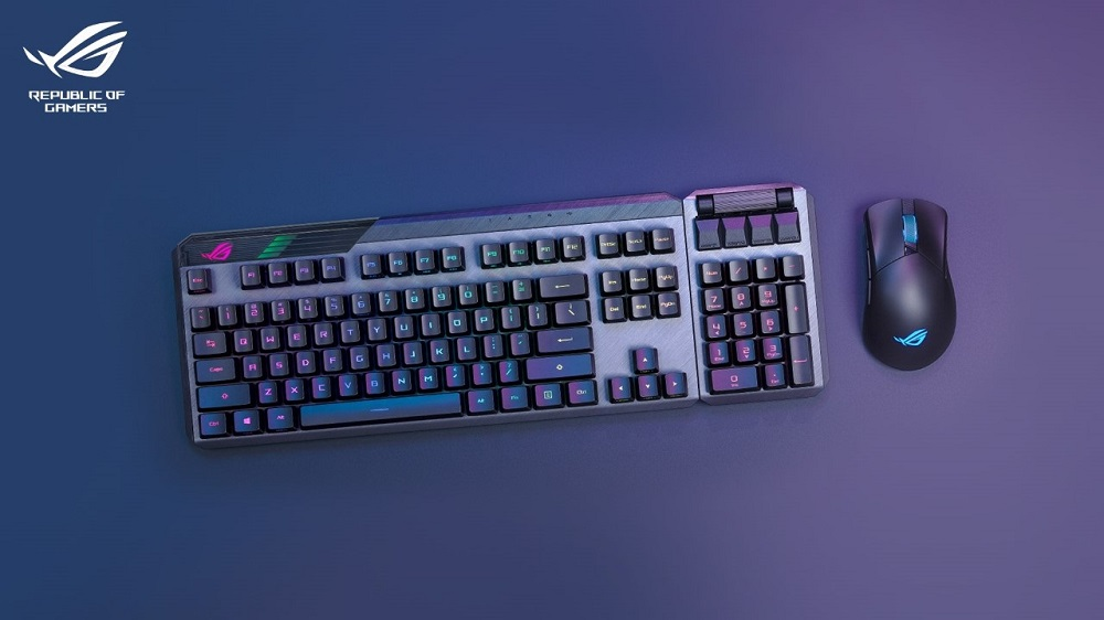 ROG Claymore II Gaming Keyboard and ROG Gladius III Gaming Mice