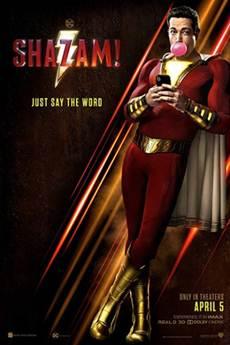Capa Shazam! 720p e 1080p Dublado Bluray (2019)