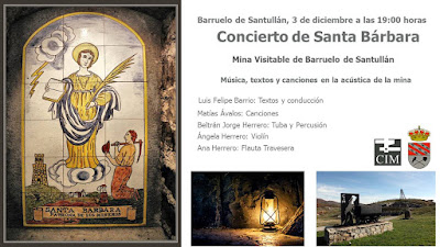 Concierto de Santas Bárbara 2017 Barruelo de Santullán
