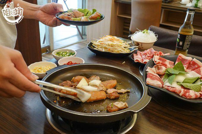 昱賀屋燒肉火鍋-苓雅區火鍋壽喜燒推薦