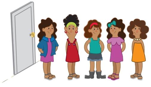 OBMEP 2019 Ana, Beatriz, Cláudia, Daniela e Érica foram visitar a vovó Margarida