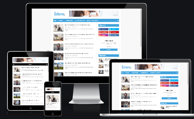 Schema Blogger Template | Free Best Blogger Template In 2019
