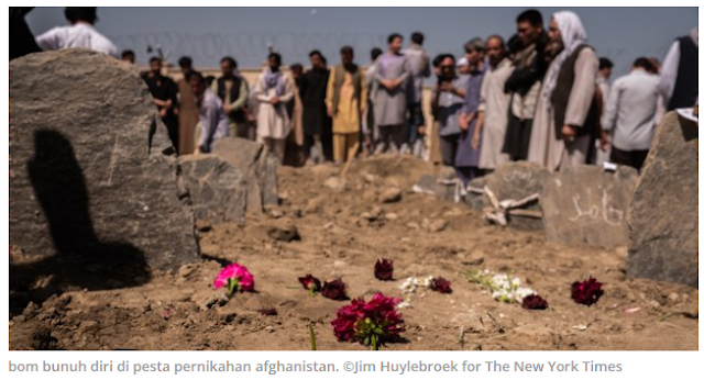 Satu Menit Pesta Pernikahan Berujung Pemakaman 63 Jiwa