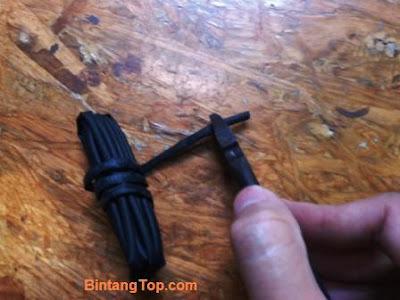 shrinktube untuk sambungan kabel