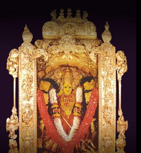 Vijayawada Kanaka Durga Navratri Alankaram 2020