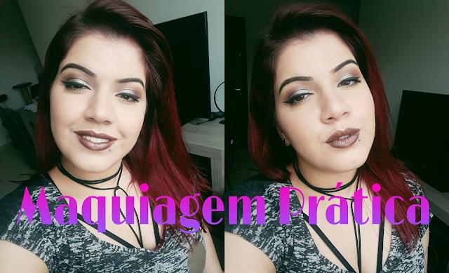 Maquiagem Pratica que mais usei na Beauty Fair