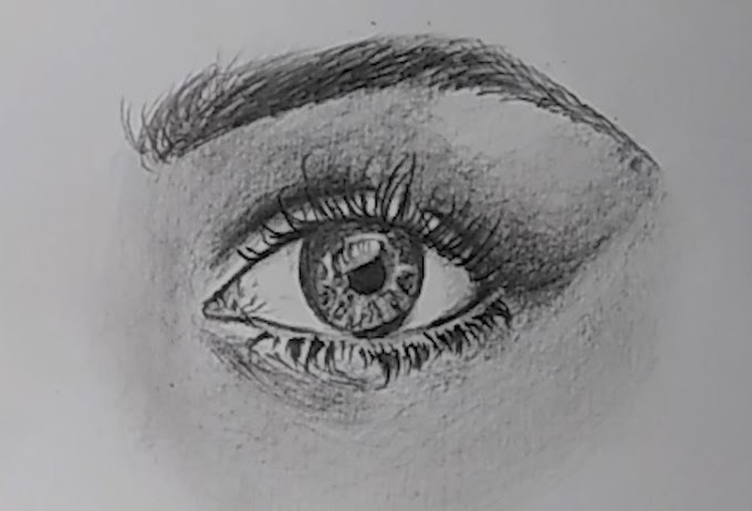 How To Draw An Eye For Beginners