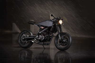 "BMW G650 X Custom ""Octavia"""