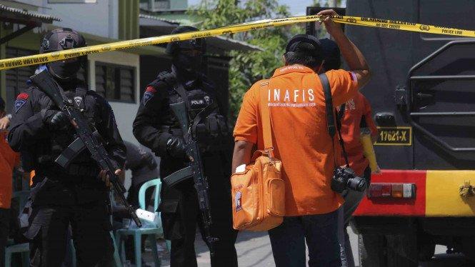 penangkapan teroris JAD