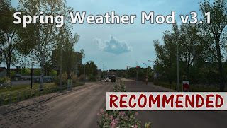 ets 2 spring weather mod v3.1