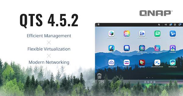 QNAP lança QTS 4.5.2 e placa de rede 100GbE