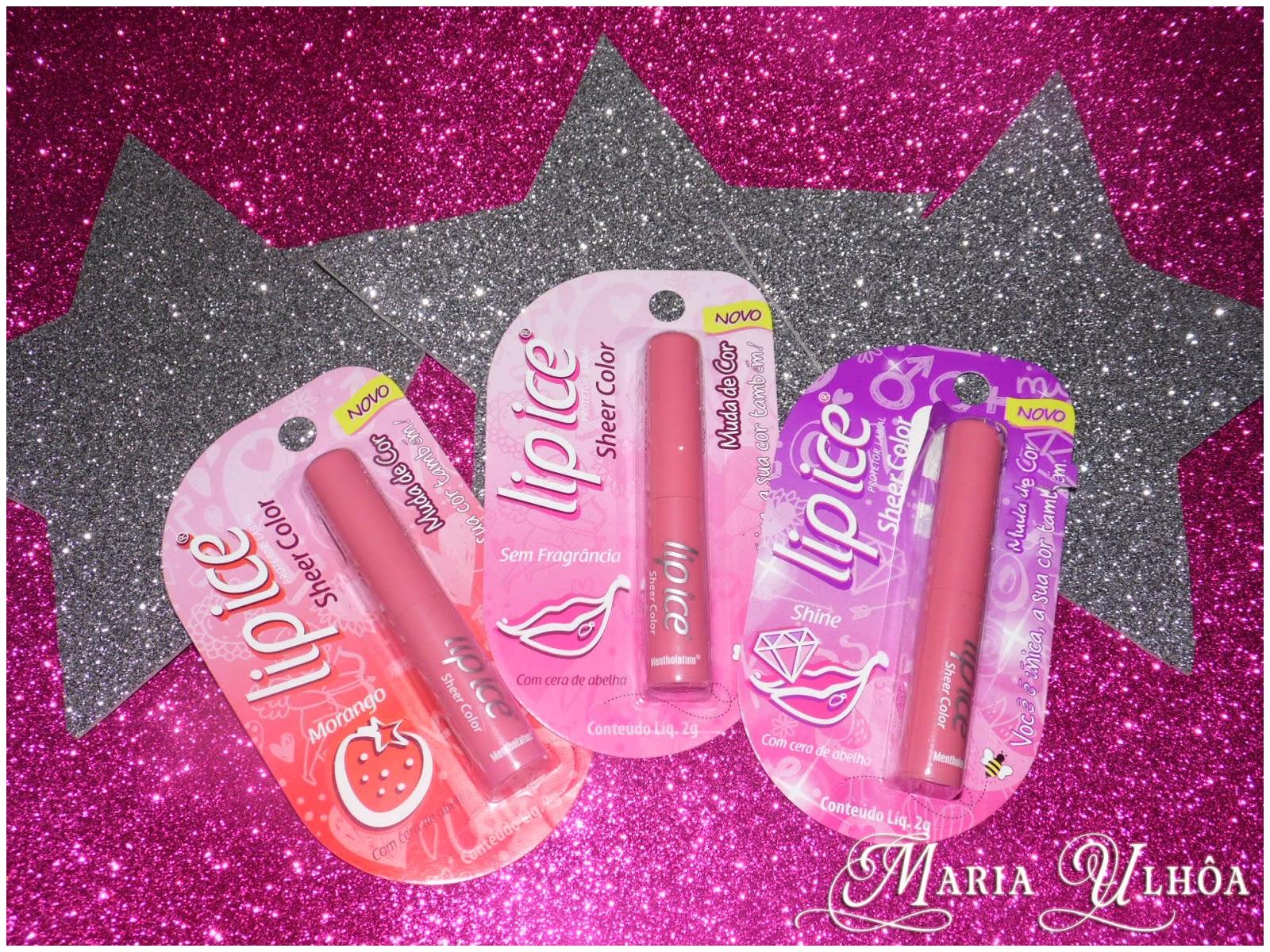 Recebidos - Lip Ice Sheer Color