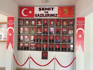 Bozkır ilçesinde 18 Mart dolayısıyla Bozkır Emniyet Amirliğinden anlamlı çalışma