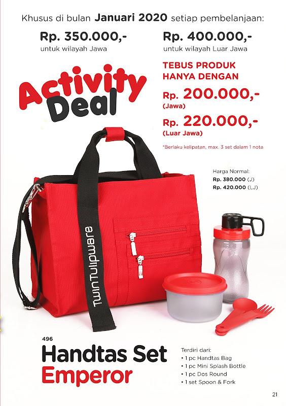 Activity Deal Januari 2020