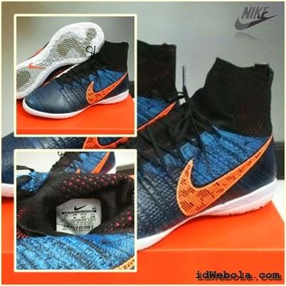 Sepatu Futsal Nike Elastico Navy