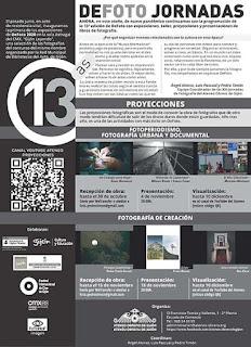 Imagen del flyer DeFoto proyecciones