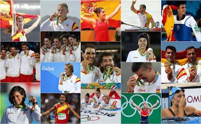 Medallistas españoles en Río 2016