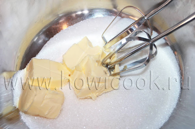 рецепт кекса с изюмом с пошаговыми фото