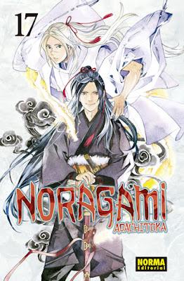"Manga: Reseña de ""Noragami"" Vol. 17 de Adachitoka - Norma Editorial"