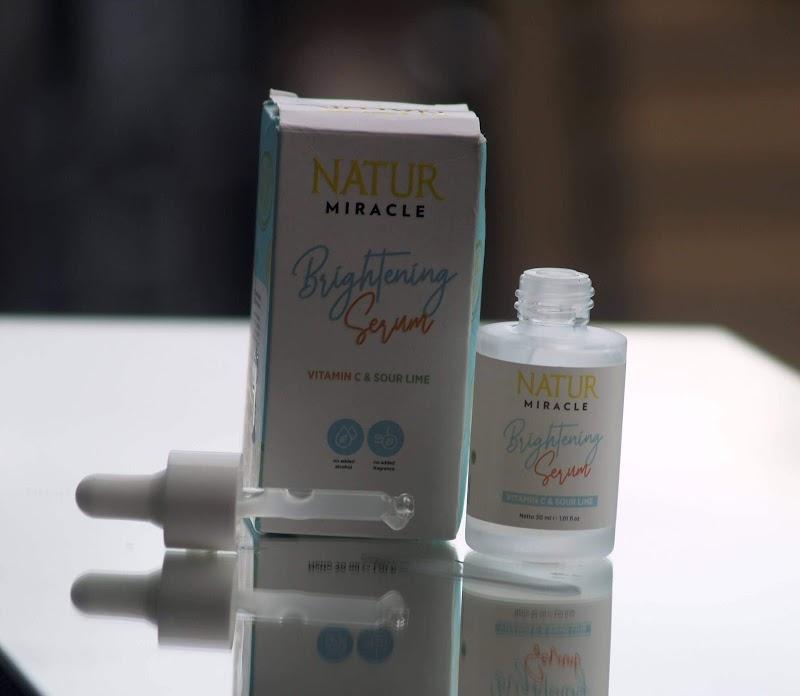 Review Natur Miracle Brightening Serum