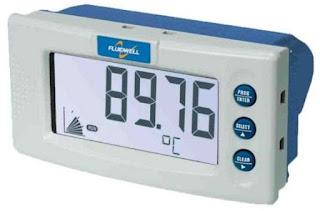 Fluidwell D040 DIN Panel Mount Temperature Indicator