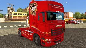 Davidson Scania RJL skin