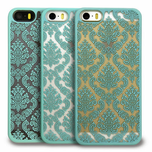 Rubber Coating Ultra Slim Fit Hard Case Cover for Apple iPhone 5 / 5S