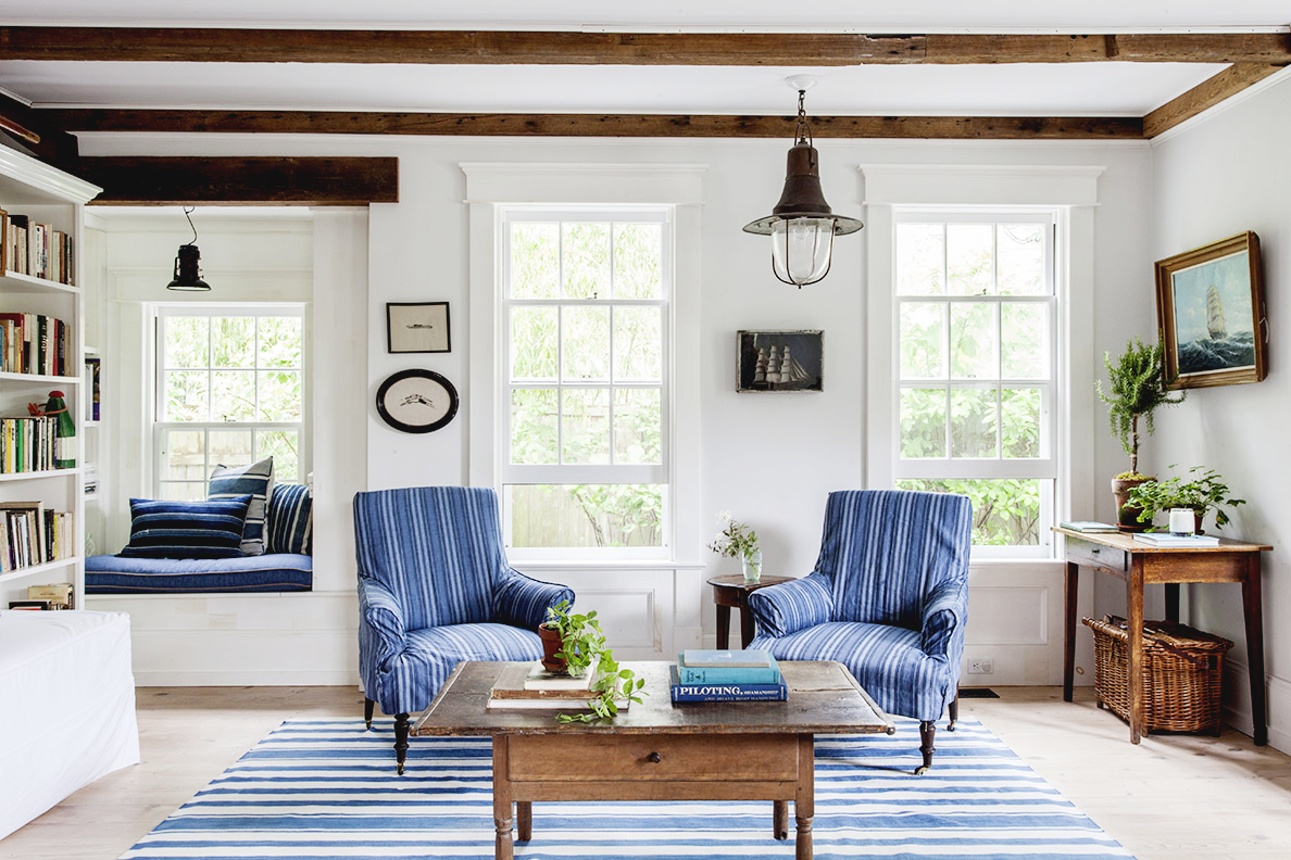 Dreams in hd interiors a coastal chic hamptons home for Hamptons beach house interiors