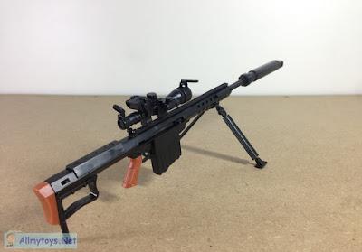 1:6 Scale Model Toy Gun
