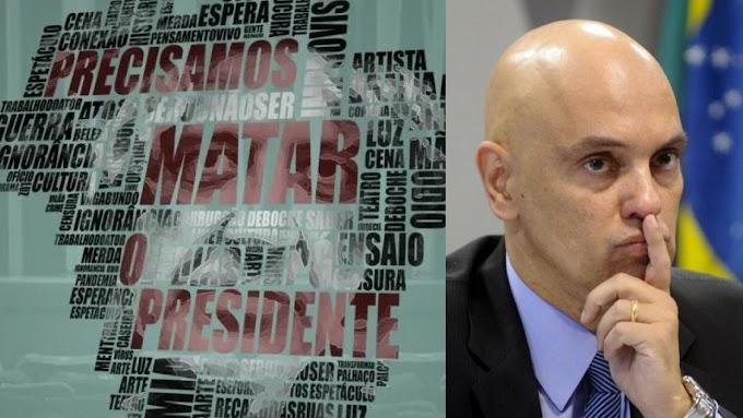 E aí Alexandre de Moraes? Grupo teatral esquerdista vai lançar peça sugerindo a morte de Bolsonaro
