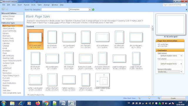 Fungsi Tab Menu dan Icon Microsoft Publisher, tab menu microsoft publisher, menu microsoft publisher, apa fungsi tab menu microsoft publisher