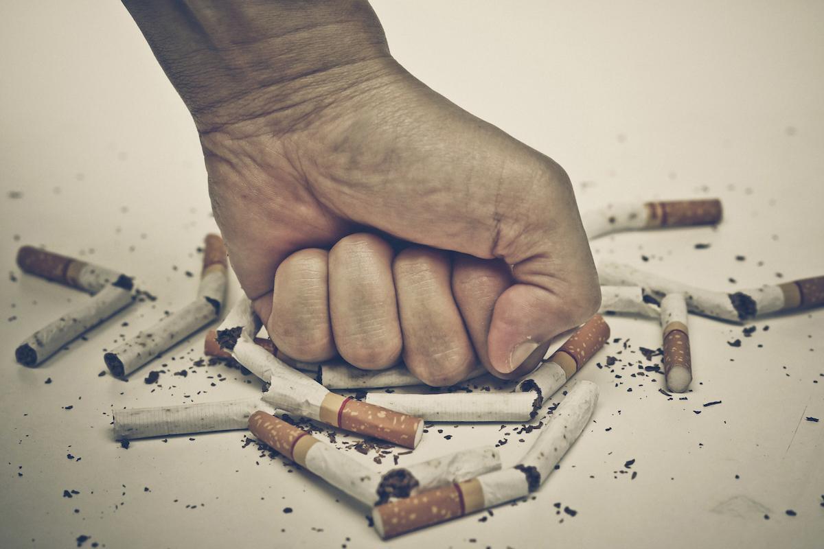 Kampanye anti rokok dengan media gambar dan fotografi