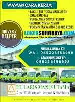 Walk In Interview di PT. Laris Manis Utama Surabaya Januari 2020