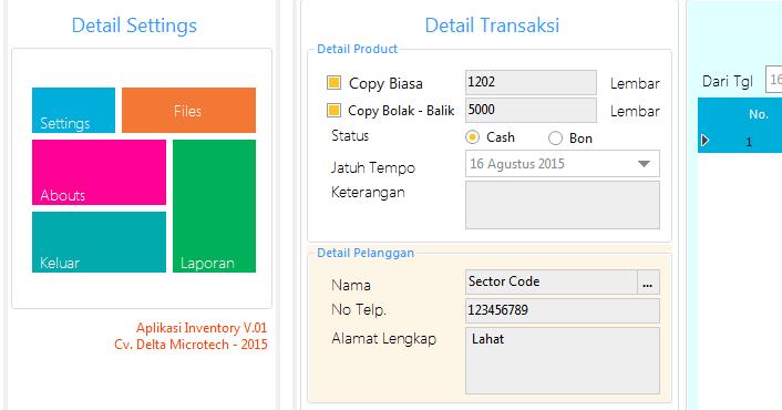 Membuat tampilan Metro Form CSharp dan Vb.Net | Sector Code