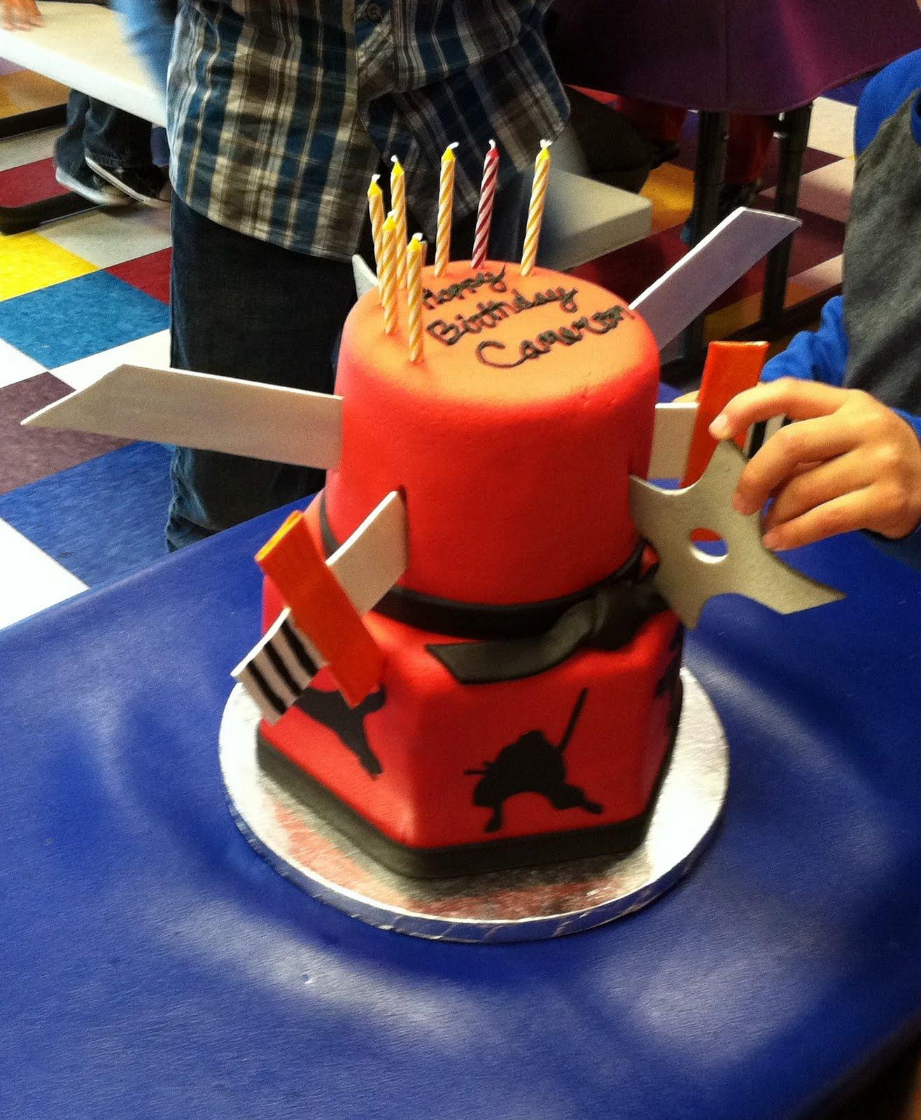 Martian Mom Ninja Cake