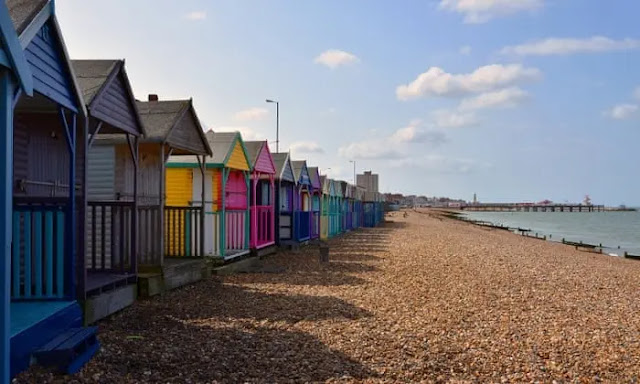 2. We do love to be beside the seaside