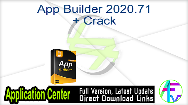 App Builder 2020.71 + Crack