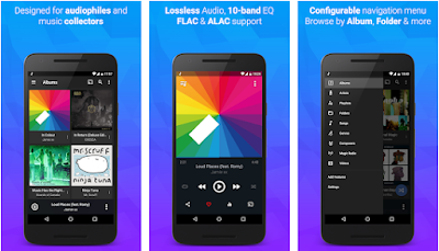 Aplikasi pemutar musik double twist