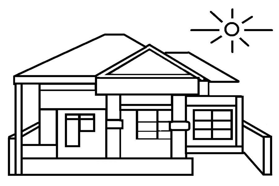 Gambar Rumah Dan Halaman Anak Sd Rumah Joglo Limasan Work