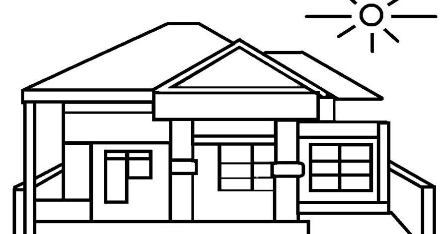 Contoh Gambar Rumah Untuk Anak Sd - Berbagai Rumah