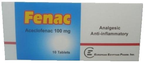 دواء فيناك بروموفارم أقراص ملبسة (دكلوفيناك صودي) -  FENAC PROMOPHARM