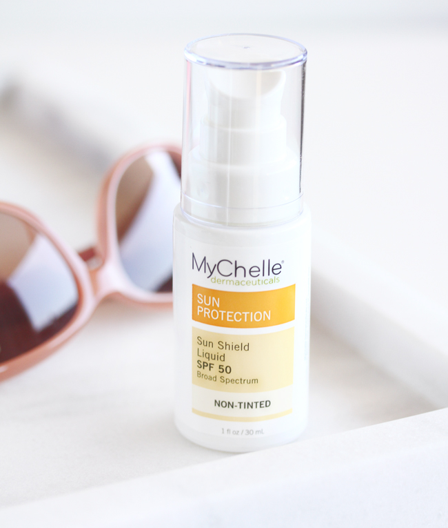 MyChelle Sun Shield Liquid, MyChelle Sun Shield Liquid Review, MyChelle Sun Care, Reef Safe Sunscreen