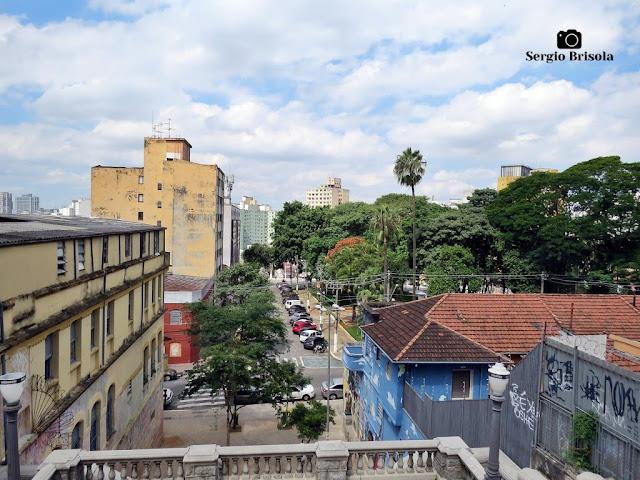 Vista panorâmica desde a Escadaria do Bixiga - Bela Vista - São Paulo