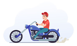 calculate spee of motorcycle