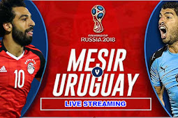 Live Streaming Mesir vs Uruguay 15 Juni 2018
