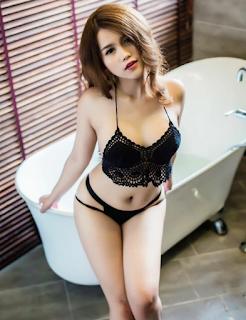 Hot girl facebook Trịnh Hồng Chi khoe vòng 1 xinhgai.biz