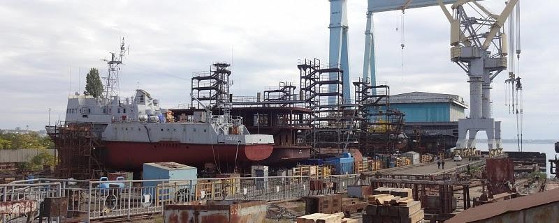 Чорноморський суднобудівний завод ліквідовано – майно розпродано, документація на корвет повернута Міноборони